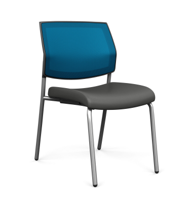 Focus Side Mesh Back Chair with Arms