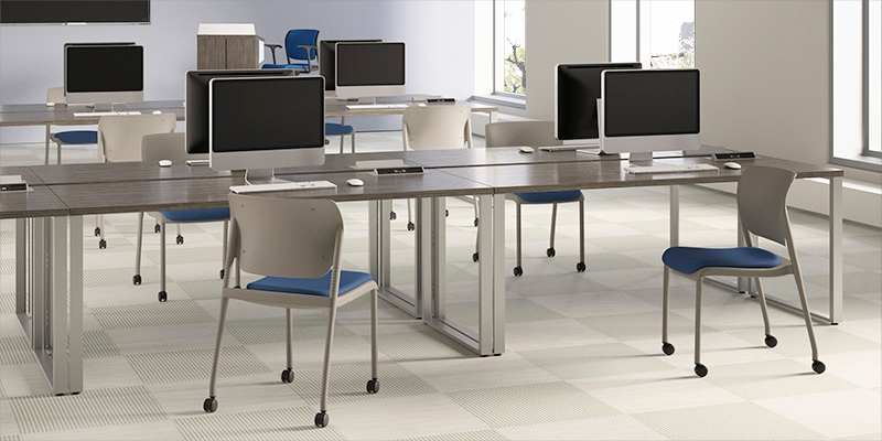 Modern Classroom Training ~ Inflex multipurpose chair cafe stool