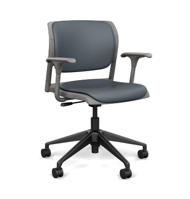 InFlex Plastic Task Chair with Arms