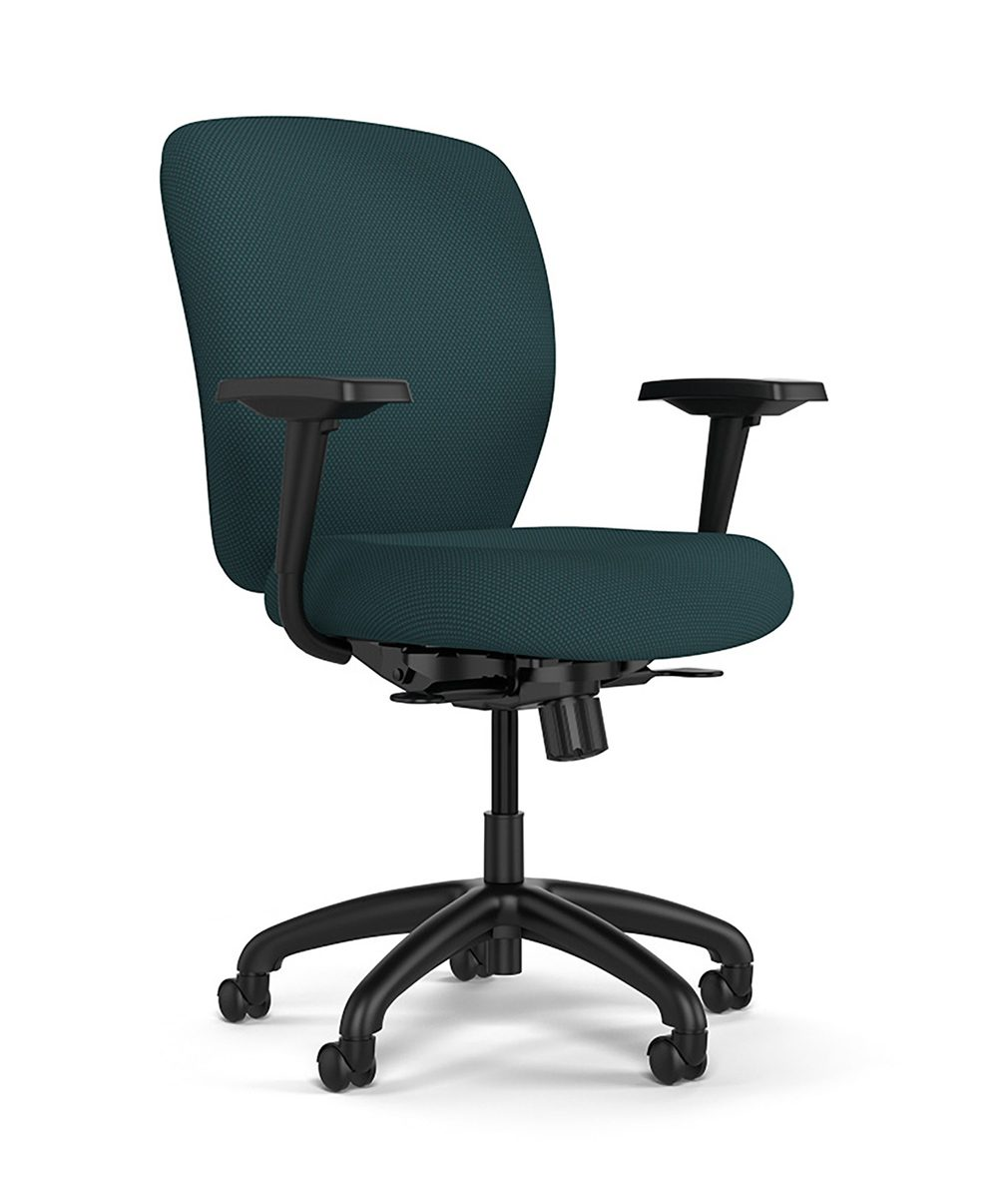 Office Chair With Adjustable Arms Knack Task Work Chairs Stools Seating Sitonit Seating