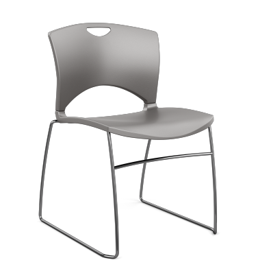 OnCall Plastic Side Chair Armless