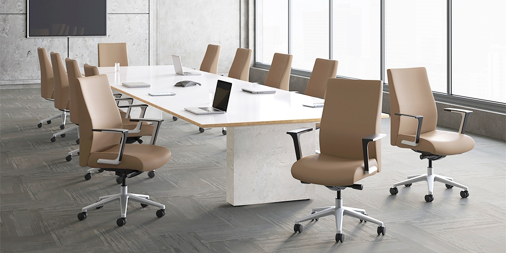 Prava Executive Chairs Seating SitOnIt Seating - Conference table chairs with wheels