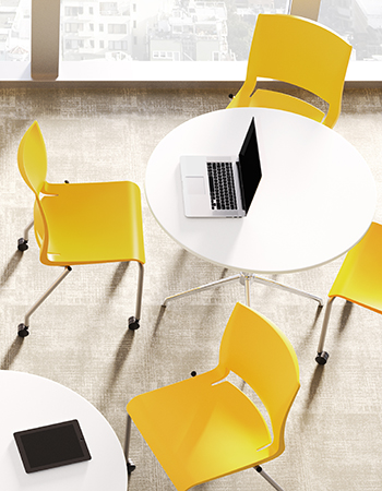 New Rio multipurpose chairs, lemon shell