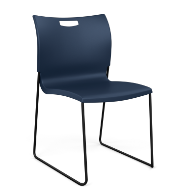 Rowdy Plastic Side Chair Armless